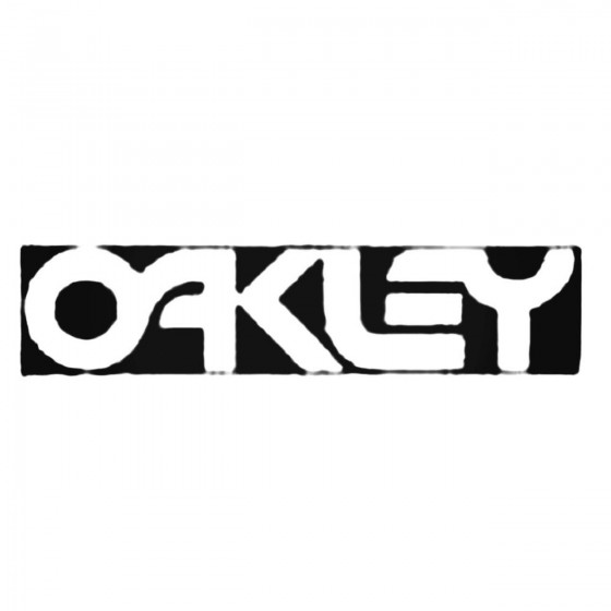 Oakley Retro Block Decal...