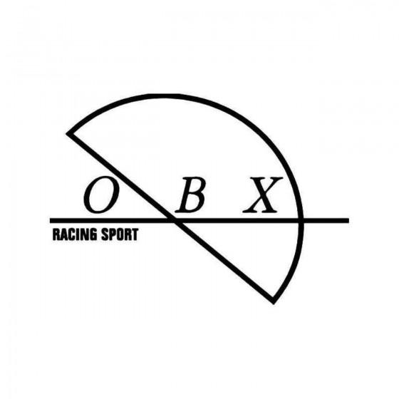 Obx Racing Sport 1 Vinyl...