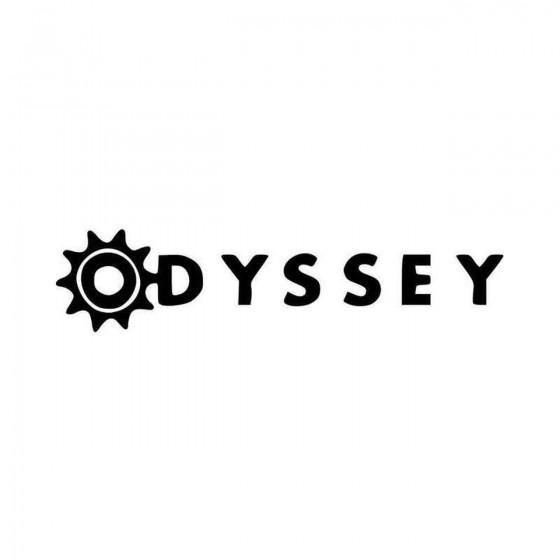 Odyssey Bmx Logo Vinyl...