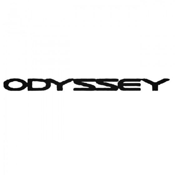 Odyssey Decal Sticker