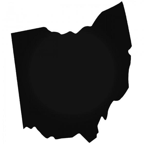 Ohio Home State Decal Sticker