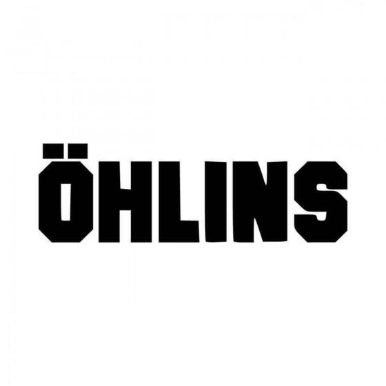 Ohlins Solid Aftermarket...