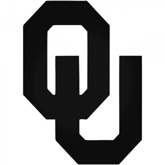 Oklahoma Sooners 013 Decal...