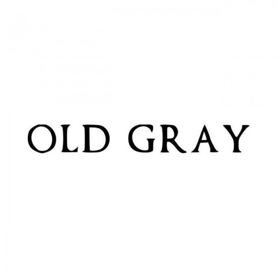 Old Gray Band Logo Vinyl...
