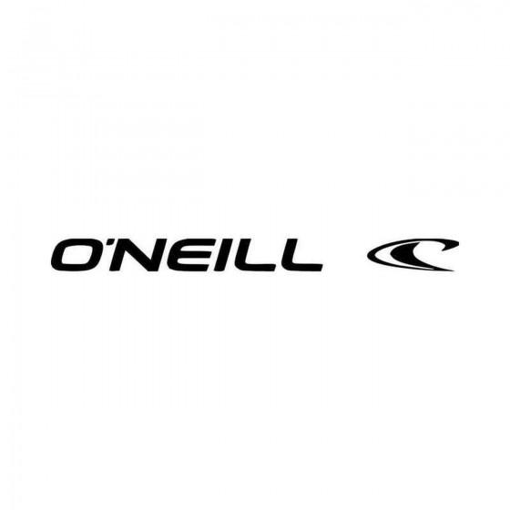Oneill Surfboard Logo Vinyl...