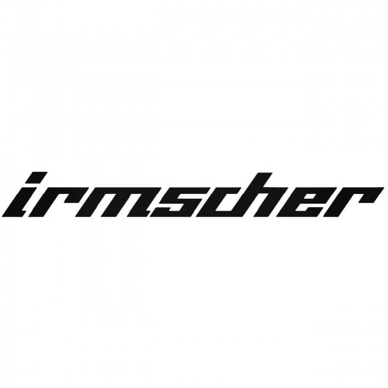 Opel Irmscher Decal Sticker