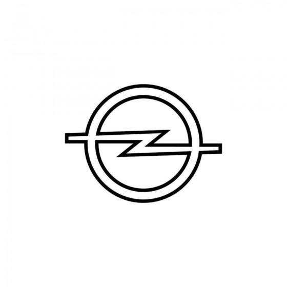 Opel Logo Contour Vinyl...