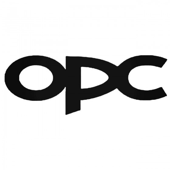 Opel Opc Aftermarket Decal...