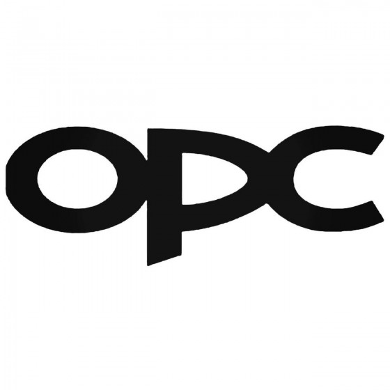 Opel Opc Decal Sticker