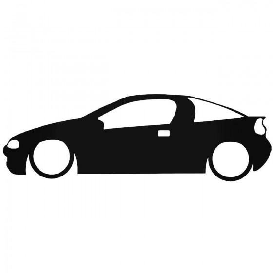 Opel Tigra Low Decal Sticker