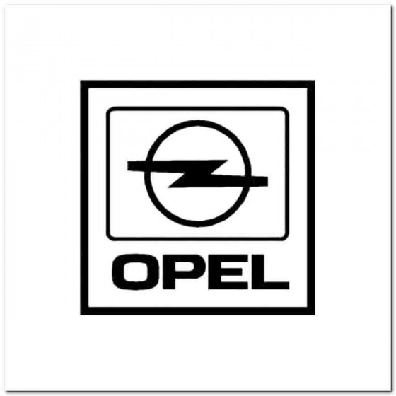 Opel Vinyl Decal