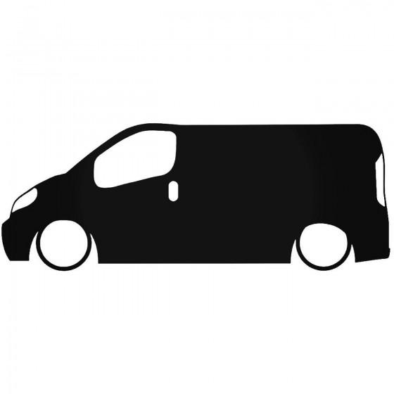 Opel Vivaro Low Decal Sticker