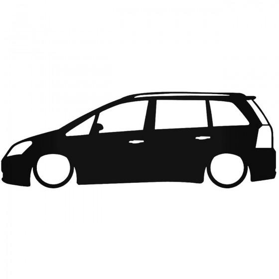 Opel Zafira B Low Decal...