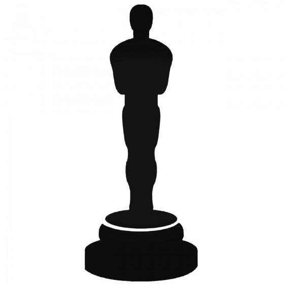 Oscar Silhouette Decal Sticker