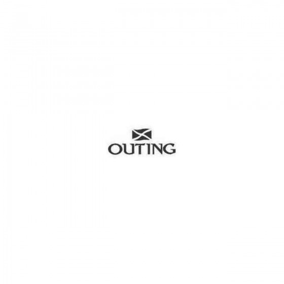 Outing Decal Sticker