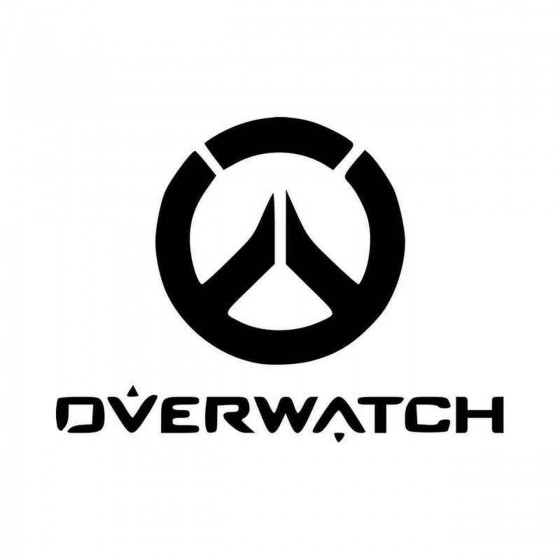 Overwatch Game Logo Vinyl...