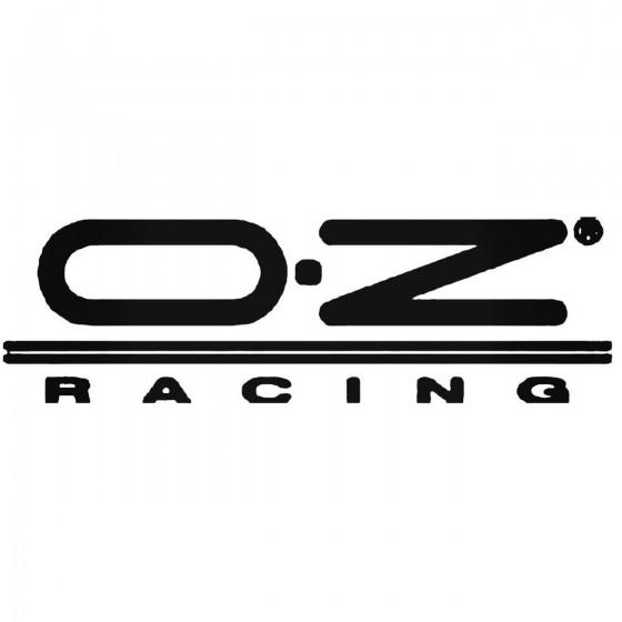 Oz Racing Vinyl Decal