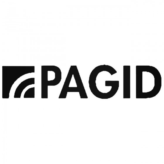 Pagid Brakes Decal Sticker