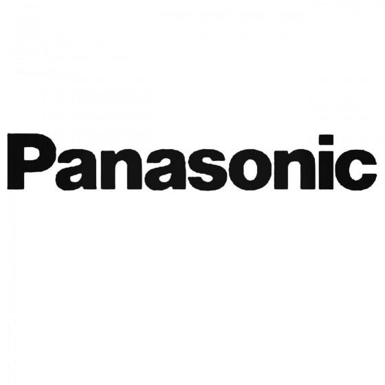 Panasonic Audio Set Decal...