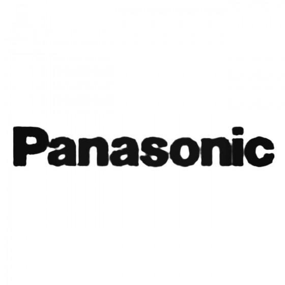 Panasonic Decal Sticker
