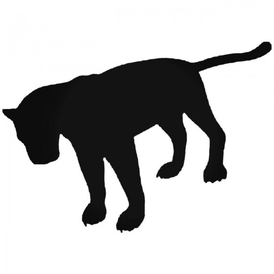 Panther 2 Decal Sticker