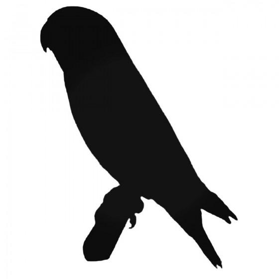 Parakeet 2 Decal Sticker