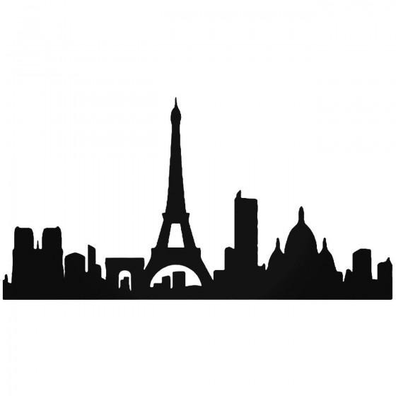 Paris City Skyline Vinyl...