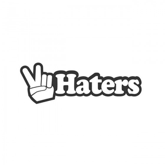 Peace Haters Jdm 2 Decal...