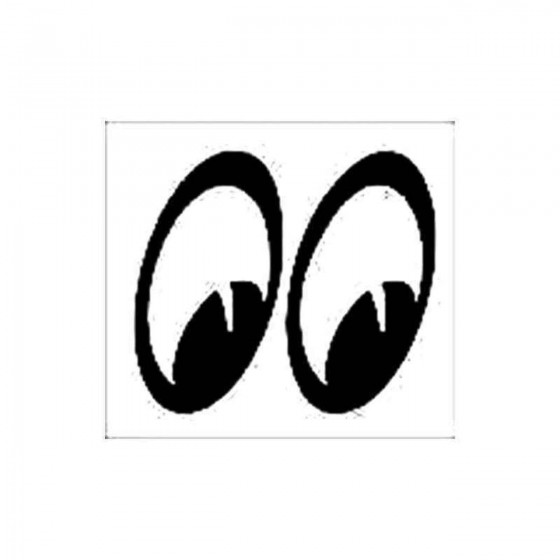 Peeping Eyes Vinyl Decal...