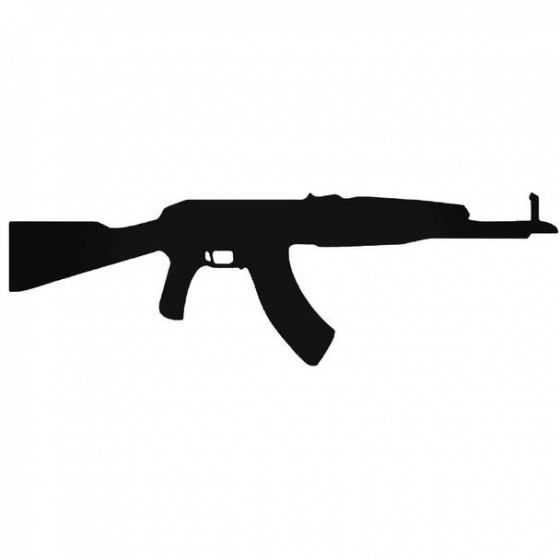 Ak47 2 Decal Sticker