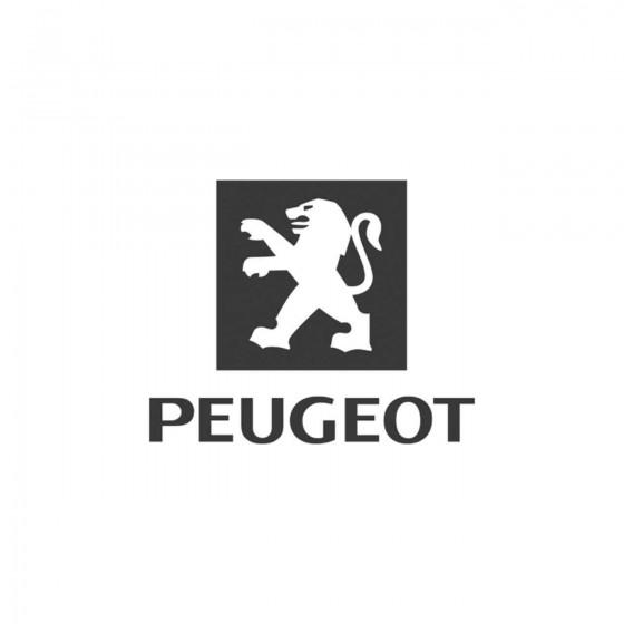 Peugeot Old Logo Vinyl...