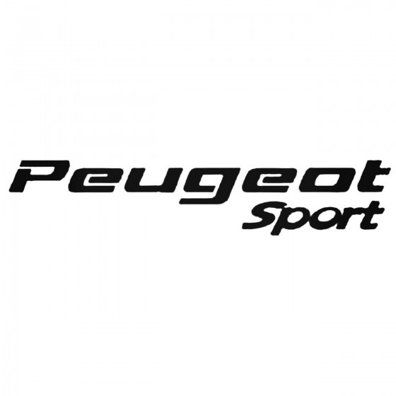 Peugeot Sport Decal Sticker