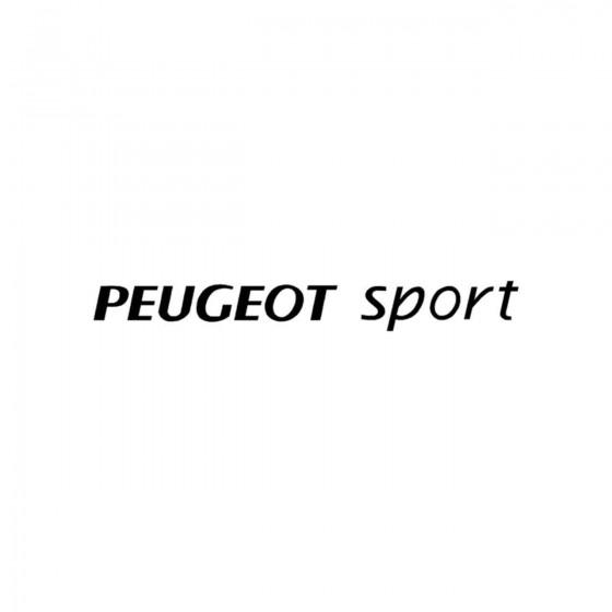 Peugeot Sport Ligne Vinyl...