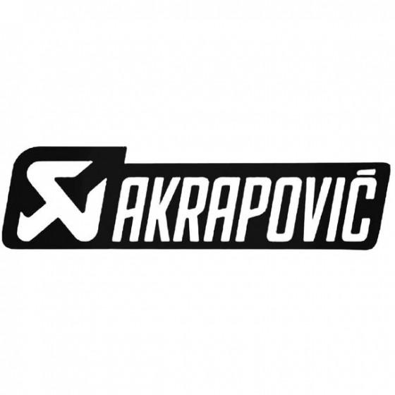 Akrapovic 2 Decal Sticker