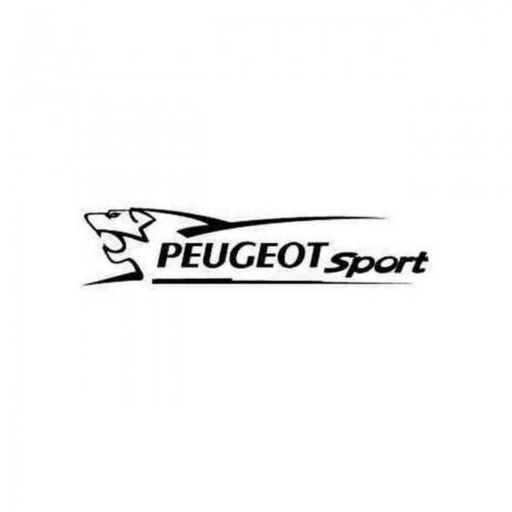 Peugeot Sport Lion Decal...
