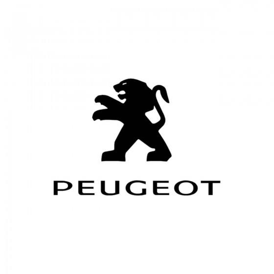 PEUGEOT Vinyl Decal Sticker