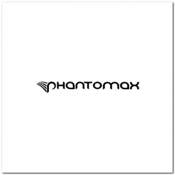Phantomax Decal Sticker