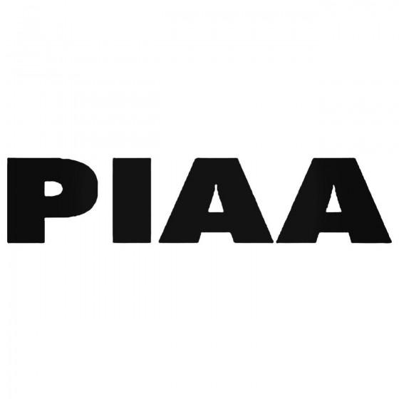 Piaa Lights Decal Sticker