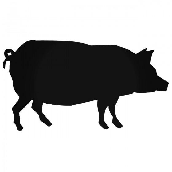 Pig 2 Decal Sticker