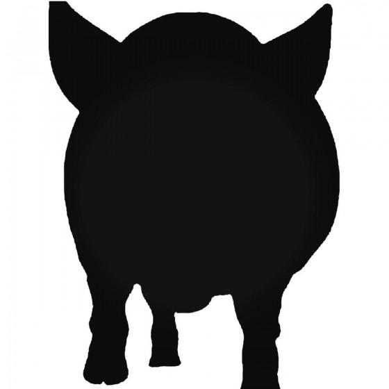 Pig 8 Decal Sticker