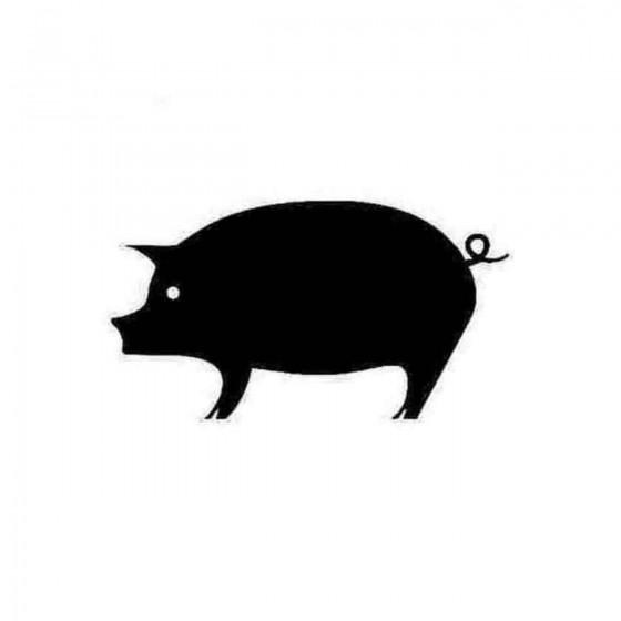 Pig Decal Sticker