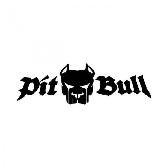 Pitbull V Vinyl Decal Sticker