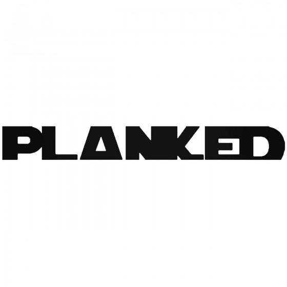 Planked Jdm Japanese Vinyl...