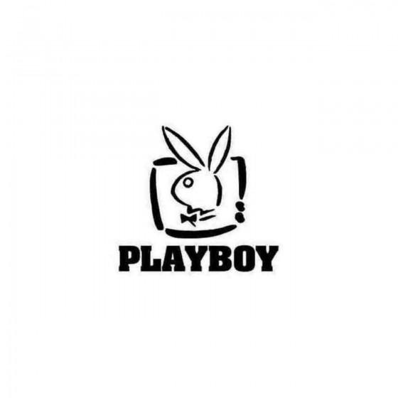 Playboy Style 3 Decal Sticker