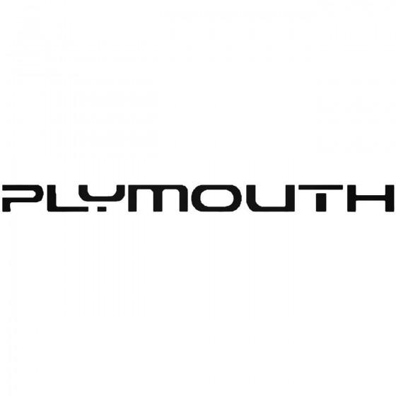 Plymouth Logo From Sundance...