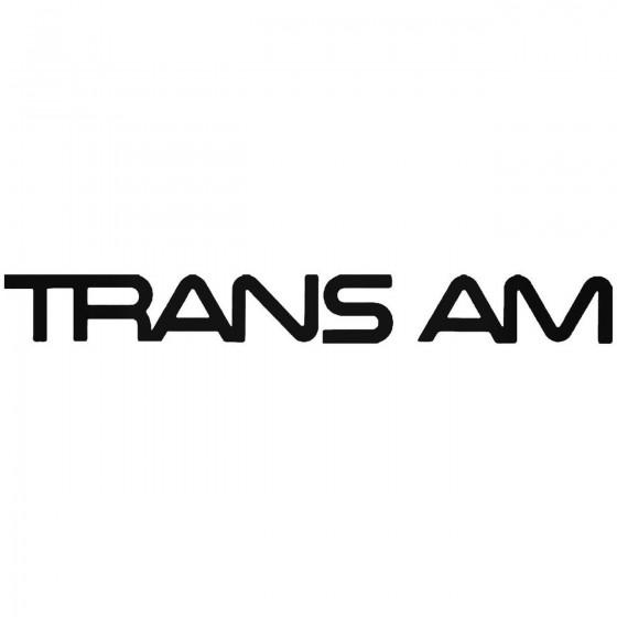 Pontiac Trans Am 2 Vinyl...