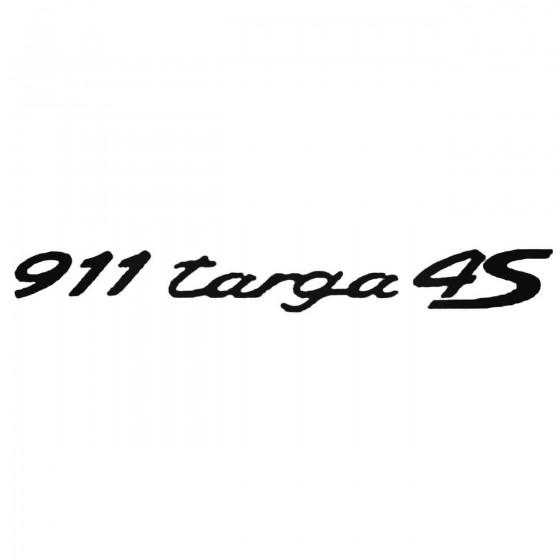 Porsche 911 Targa 4S...