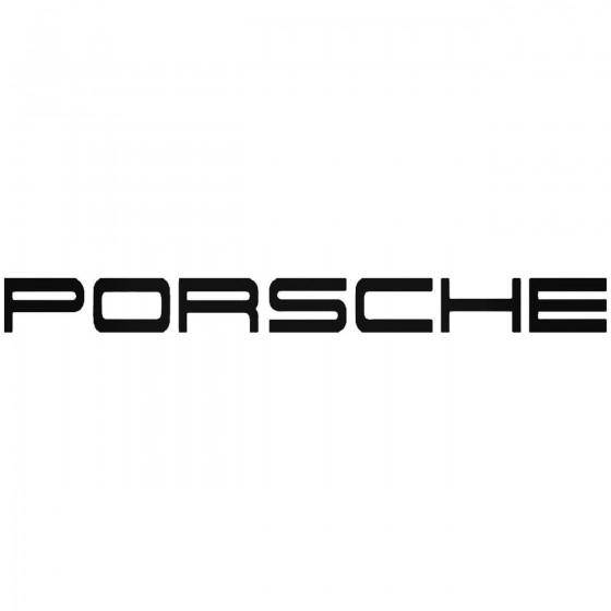 Porsche Logo Vinyl Decal...