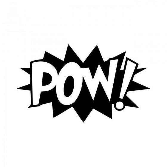 Pow Comic Book Exclamation...