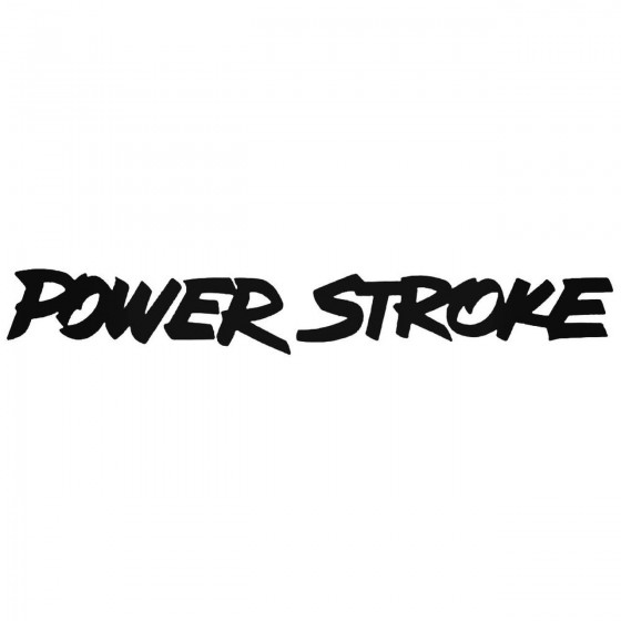 Power Stroke Graphic Decal...